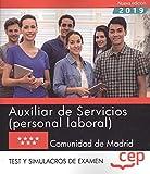 AUXILIAR SERVICIOS (PERSONAL LABORAL) COMUNIDAD DE MADRID Test y Simulacros exámen