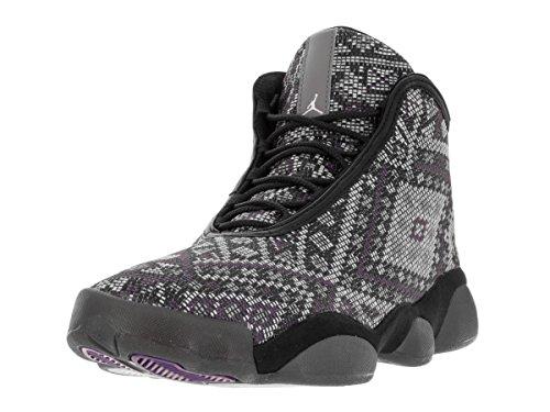 Nike Jordan Horizon Premium, Chaussures de Sport Homme, Taille Multicolore - Gris / Negro (Black / Purple Steel-Lght Chrcl)