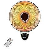 Riscaldatore a Parete 900w per Uso Domestico Riscaldatore Elettrico Silenzioso a Risparmio energetico per Uso Domestico