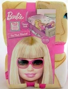Barbie Fab Plush Blanket - 62in. x 90in.
