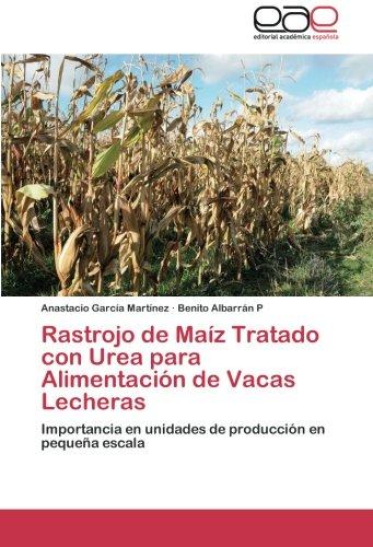 Rastrojo de Maiz Tratado Con Urea Para Alimentacion de Vacas Lecheras por Garcia Martinez Anastacio