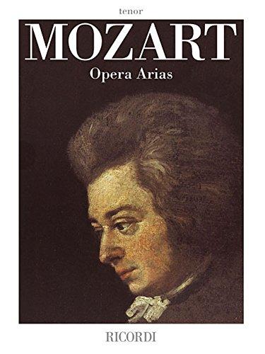 Mozart Opera Arias: Tenor por Wolfgang Amadeus Mozart