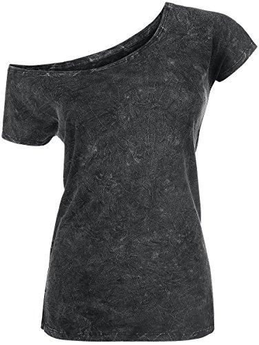 R.E.D. by EMP Vintage Shirt Maglia donna grigio XXL