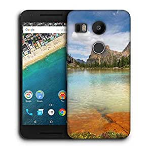 Snoogg Rocks In The Lake Designer Protective Phone Back Case Cover For LG Nexus 5X