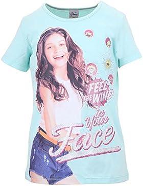 DISNEY Niñas Soy Luna Camiseta, azul claro