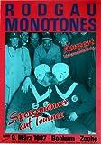 RODGAU MONOTONES - 1987 - Konzertplakat - Sportsmänner - Concert