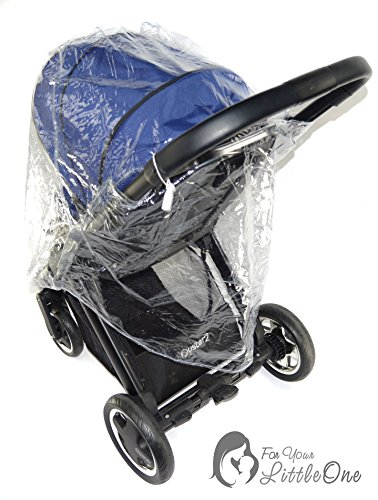 Housse de pluie compatible avec les poussettes Babyzen Yoyo