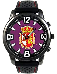 Burgos España Reloj para hombre con correa de silicona