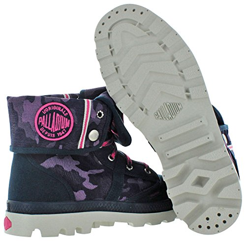 Palladium Herren Pallabrouse Baggy Desert Boots Navy/Magenta/Down Blue