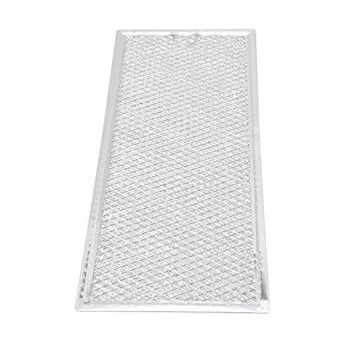 Aktivkohlefilter Filter passend für diverse Dunstabzugshaube Abzugshaube Mikrowelle Haube aus dem Hause Filter Fettfilter Aluminium Ersatz für Filter (33.3x14.9x0.2 cm / 13.11x5.87x0.08 Zoll (LxBxH)) - Mikrowelle Fettfilter