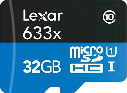 LEXAR HIGH-Performance 633x 32GB MICROSDXC UHS-1,A1,V3 CLASS10, 95MB/S (32GB)