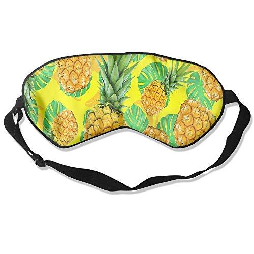 angenehmen Schlaf Augen Masken Cool Ananas Printed Schlafmaske für Reisen, Night Noon Nap, Vermittlung oder Yoga