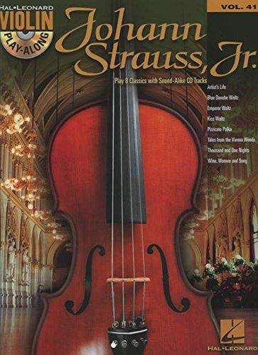 Johann Strauss: Violin Play-Along Volume 41