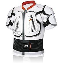 POC Spine VPD Tee - Protección de ciclismo para hombre, color blanco, talla XS-S