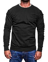 MT Styles sweat shirt contrasté homme SW-5205