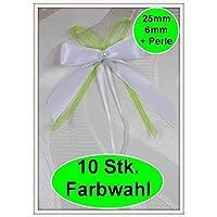 10 Antennenschleifen Farbwahl Neu Autoschleifen Hochzeit. (0,79€ Stk)