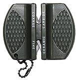 MFH Messerschärfer Mini für Outdoor, Jäger und unterwegs Schärfwerkzeug Messerschleifer