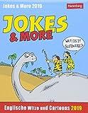 Jokes & More - Kalender 2019: Englische Witze und Cartoons