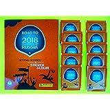 Panini - Road to World Cup 2018 - Sticker Kollektion - WM 2018 Sticker (Album + 10 Tüten)