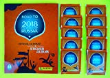 Panini - Road to World Cup 2018 - Sticker Kollektion - WM 2018 Sticker (Album + 10 Tüten)