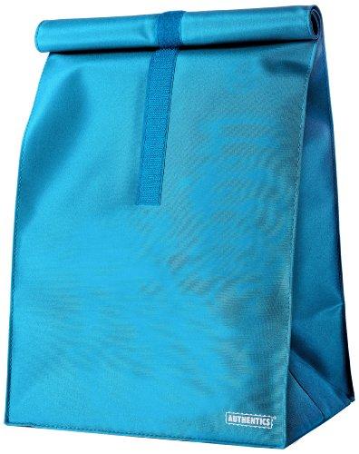 Authentics Culture Bag Sac à fermeture enroulable Bleu 26 x 49 x 19 cm