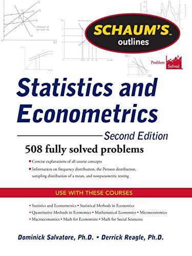 Schaum's Outline of Statistics and Econometrics, Second Edition por Dominick Salvatore