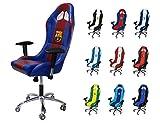 Subsonic 'FC Barcelona' Gaming Sitz Bürostuhl, Vinyl, blau/rot