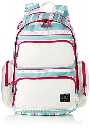 O'Neill Coastline XL AC Mochila, color Turquesa/Blanco (Green Aop W/White), 42 cm