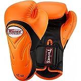 Twins Boxhandschuhe, Premium, BGVL-6, Orange-Schwarz, 12 Oz