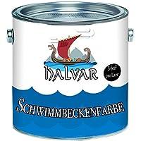 Halvar Producto skandinavische Piscina Color piscina Color piscina chapado en azul blanco verde mar verde luz gris gris antracita gris, Gris