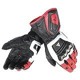 Dainese-4 STROKE LONG Handschuhe, Weiss/Rot/Schwarz, Größe XL