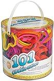 Wilton, 0261710, Set 101 Tagliapasta in pastica colorata, forme assortite: lettere, numeri, simboli, animali, sport, halloween, festività, per decorazioni e biscotti