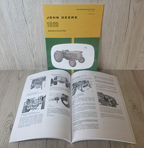 BETRIEBSANLEITUNG für John Deere-Lanz 1020