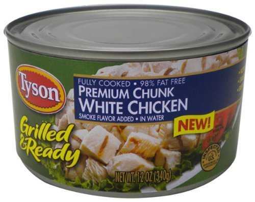 tyson-foods-grilled-and-ready-premium-chunk-white-chicken-12-ounce-pack-of-6-by-tyson-foods