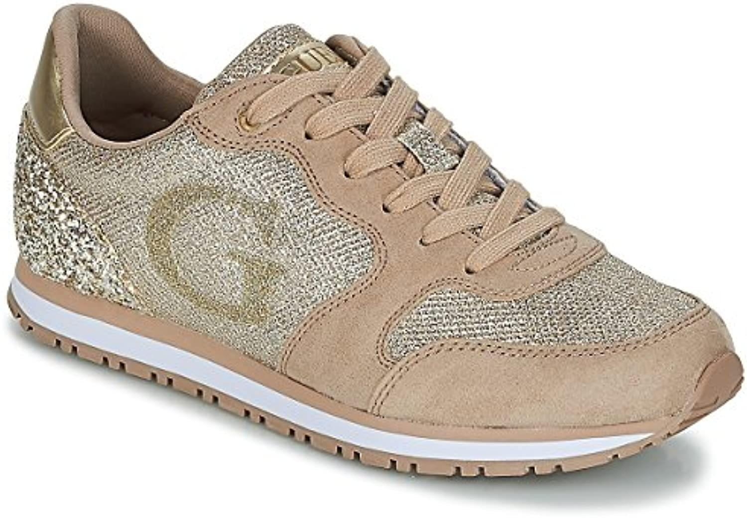 Guess Sneakers Sneakers Guess Gold   - Chaussures Running ModeB078XNQNNWParent b13662