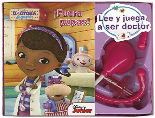 Dra Juguetes. Lee y juega a ser doctor: ¡Fuera pupas! (Disney. Doctora Juguetes) por Disney