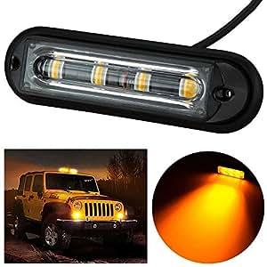 solmore led auto blitzlicht blinklicht blitz leuchte strobe leuchten warnleuchten kfz truck. Black Bedroom Furniture Sets. Home Design Ideas
