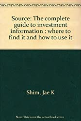 Source: The complete guide to investment information : where to find it and how to use it