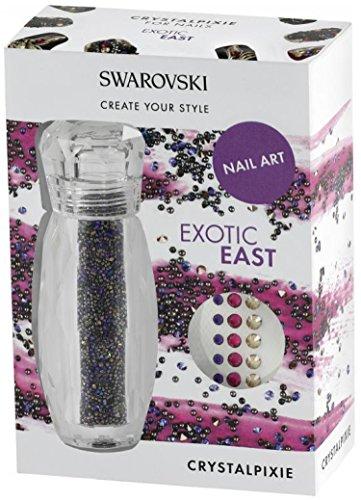 Swarovski® Nail Box Pixie + + Exotic East + + Soooo bello lampeggiante. Imbuto. + 30Swarovski Flatbacks gratis.
