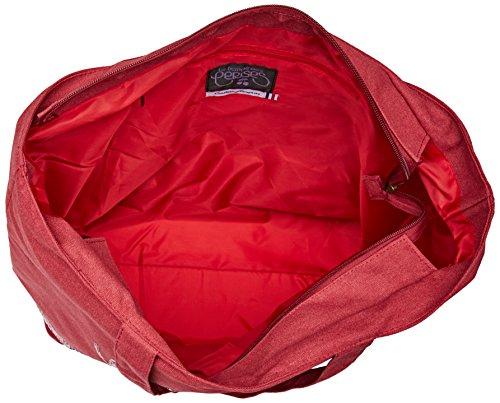 Le Temps des Cerises Damen Glitter 5 Tote, 18.5x38x35 centimeters Rot (Rouge)