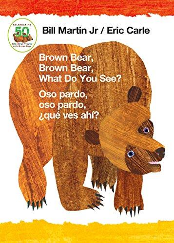 Book Collection Brown Bear, Brown Bear, What Do You See? / Oso pardo, oso pardo, ¿qué  ves ahí? (Bilingual board book – Spanish edition) FB2