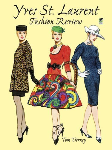 Yves St.Laurent Fashion (Dover Paper Dolls) by Tierney. Tom ( 1999 ) Paperback
