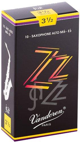 Vandoren SR4135 ZZ Alt Saxophon Blätter - 10 Einheiten