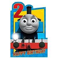 Thomas & Friends Age 2 Birthday Card