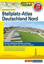 Deutschland Nord Stellplatz-Atlas 2016 (Hallwag Promobil)