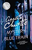 Front cover for the book The Mystery of the Blue Train by Agatha Christie