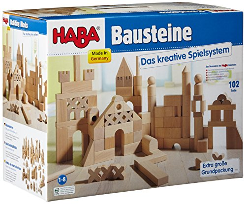 HABA 1077 - Basisbausteine, extra große Grundpackung
