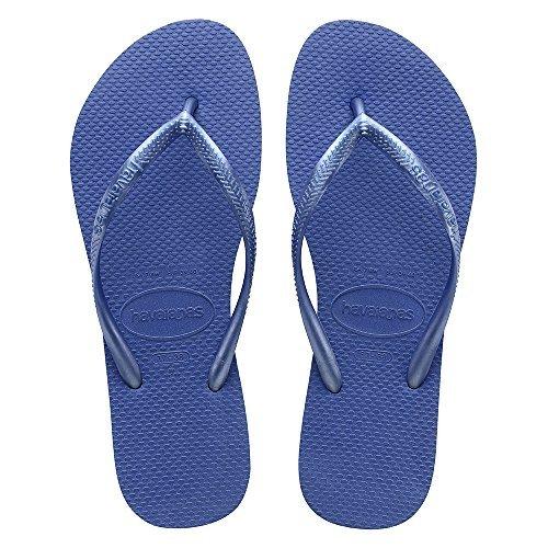 Havaianas Damen Dusch- & Badeschuhe Blau Lt Blue Thong Heels Für Frauen