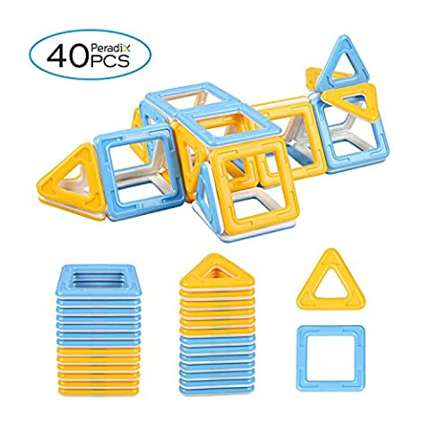 Peradix Blocs de Construction, Bâtons Magnétique 40pcs