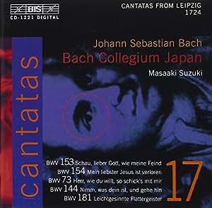 Bach: Cantatas, Vol 17 (BWV 153, 154, 73, 144, 181) /Bach Collegium Japan · Suzuki